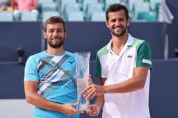 Mektic and Pavic, 2021 Miami Open Men's Doubles Champions